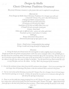 TERRY NELSON INSTRUCTIONS PAGE 1