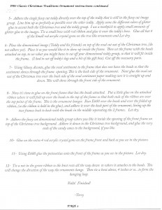 TERRY NELSON INSTRUCTIONS PAGE 2