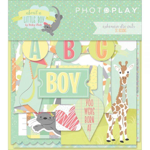 Photo Play About a Little Boy Ephemera